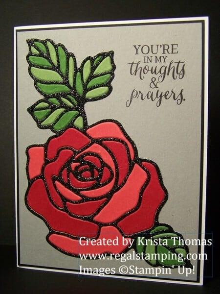 Rose Garden Thinlit Puzzle Regal Stamping